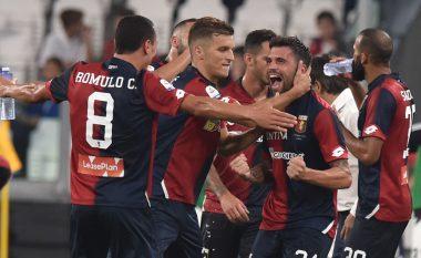 Genoa ia merr pikët e para sezonale Juventusit në Serie A