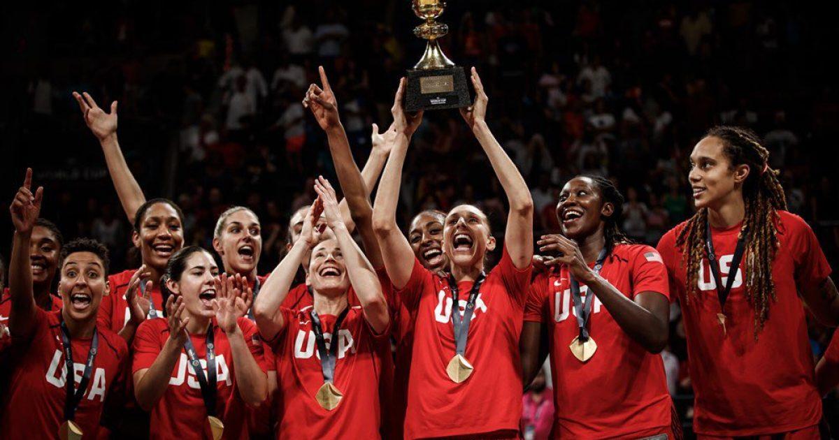 Vajzat e SHBA-së kampione bote në basketboll