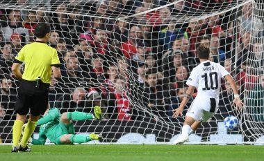 Dybala kalon Juven në epërsi ndaj Unitedit