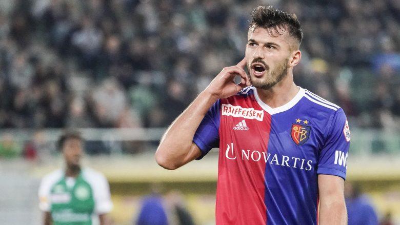 Ajeti vazhdon me gola te Baseli, i shënon ish-skuadrës
