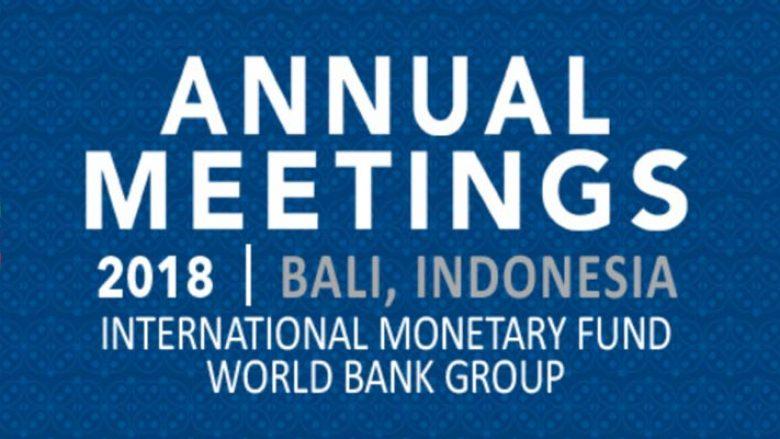 Mehmeti dhe Hamza në takimet vjetore të FMN-së dhe Bankës Botërore