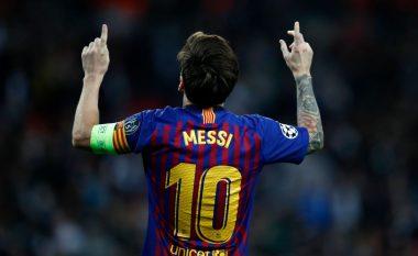 Messi zgjidhet lojtari më i mirë edhe në javën e dytë të Ligës së Kampionëve