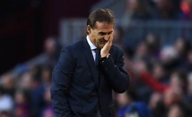Lopetegui: Përgjegjësia gjithmonë bie te trajneri, Reali do të festojë në fund të sezonit