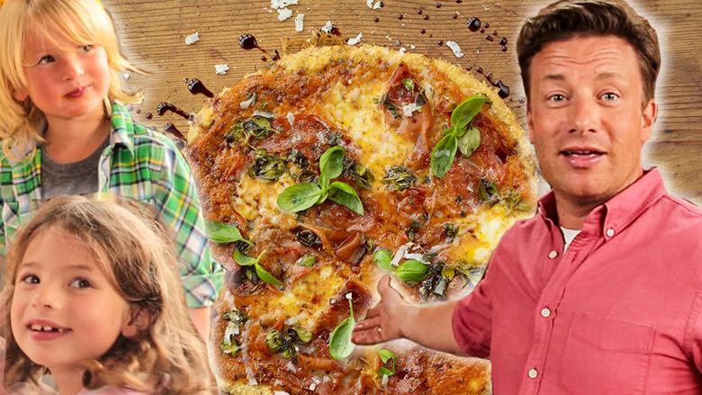 Picë fenomenale familjare sipas recetës së Jamie Oliverit të famshëm (Video)