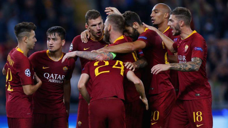 Roma nënshtron CSKA Moskën