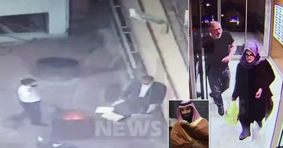 Princi i Kurorës foli me Khashoggin në telefon  para se të vritej   pamje ku shihet  djegia e dokumenteve në konsullatën e Stambollit  një ditë më vonë   Foto Video