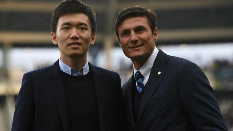 Steven Zhang - Javier Zanetti (Foto: Valerio Pennicino/Getty Images/Guliver)