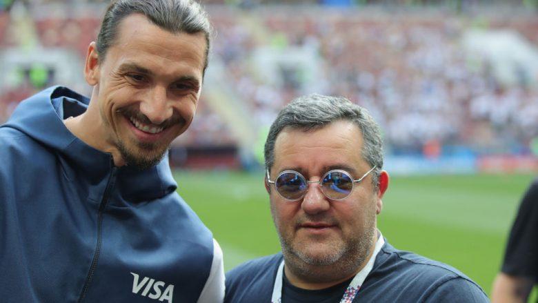 Zlatan Ibrahimovic dhe Mino Raiola (Foto: Alexander Hassenstein/Getty Images/Guliver)