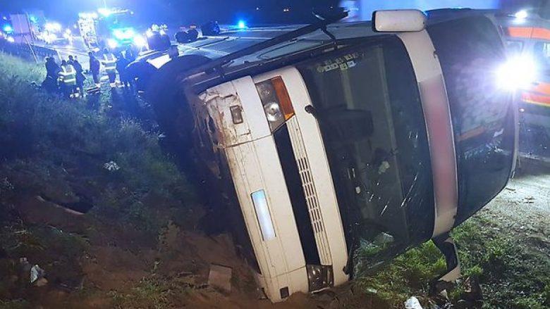 MPJ për aksidentin në Austri: Tetë shtetas të lënduar, dy më rëndë