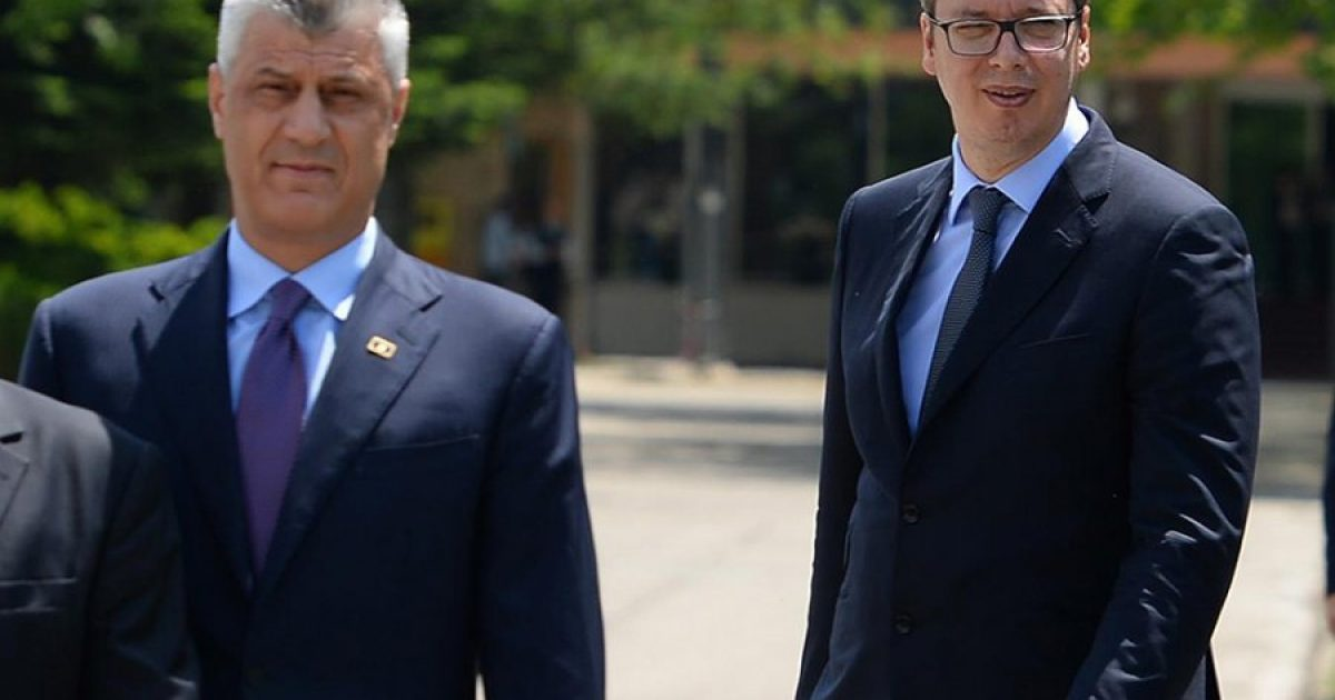 """""""Financial Times"""": Thaçi e Vuçiq drejt marrëveshjes për shkëmbim territoresh"""