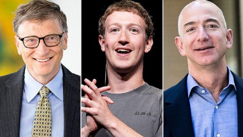 'Miliarderët e internetit' po humbin para në bursa