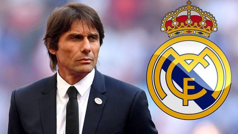 Conte në pritje të Real Madridit