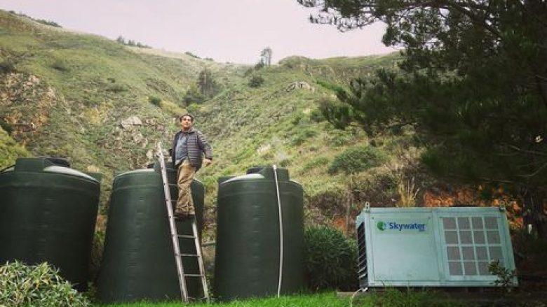 Makinat Skywater mund të nxerrin ujë të pijshëm nga ajri
