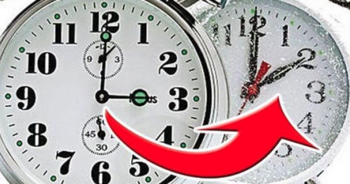 Sot jemi zgjuar me orën e re, 'Orën Dimërore'