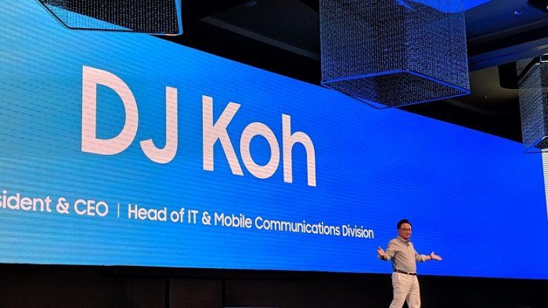 CEO i Samsung thotë se telefoni fleksibil do të dyfishohet, nga telefoni në tablet