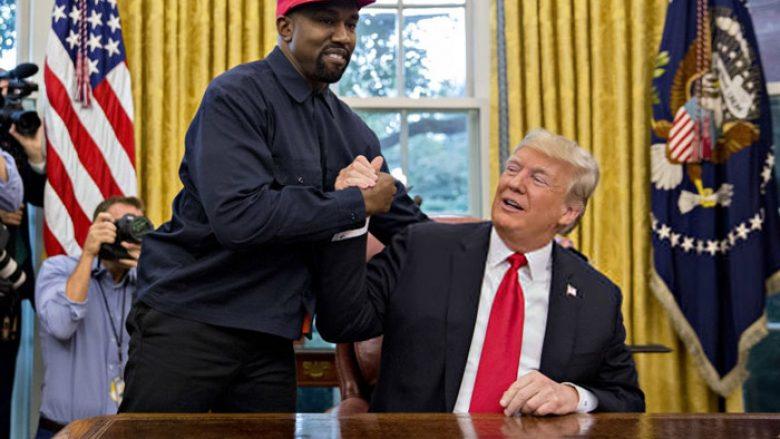 Kanye West takohet me Donald Trumpin në Shtëpinë e Bardhë