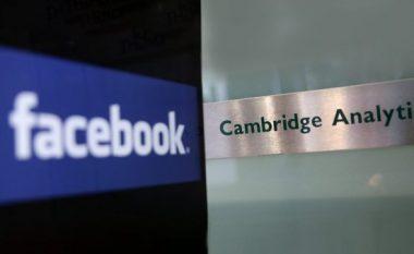 Facebook gjobitet me 565 mijë euro për skandalin e Cambridge Analytica