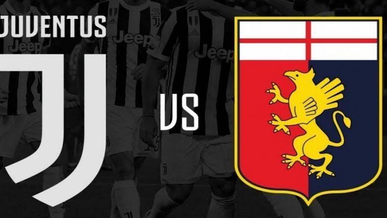 Formacionet zyrtare: Juve favorit për një tjetër fitore ndaj Genoas
