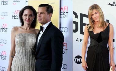 Angelina Jolie ende nuk ndjehet keq për ndarjen e Brad Pitt me Jennifer Aniston, që mendohet se u shkaktua falë saj
