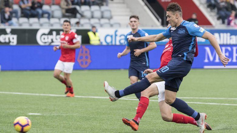 Kololli shënon dy gola në udhëtimin e Zurichit te Thuni