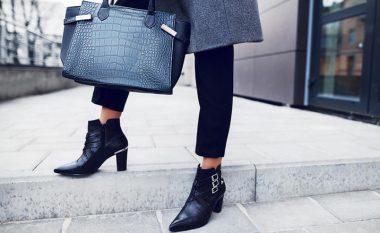 Kombinoni çantën dhe këpucët me veshjet si profesioniste: Stili i vjeshtës pa gabime!