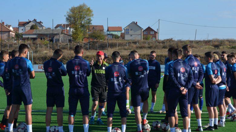 Kosova U21 punon me intensitet të lartë, synon fitore ndaj Izraelit