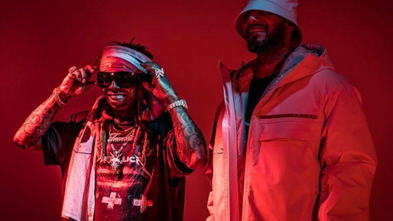 Lil Wayne në xhirimet e klipit të ri
