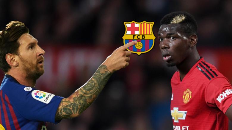 Messi dhe yjet e Barcelonës duan që Pogba t'iu bashkohet