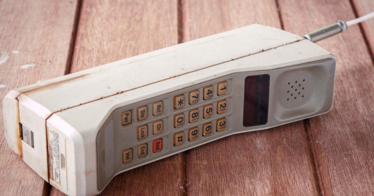 Bëhën 35 vite nga telefonata e parë mobile