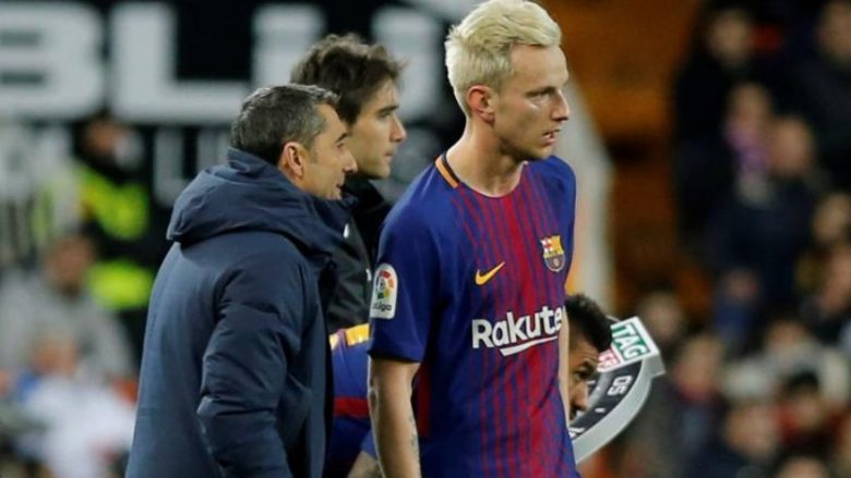 Rakitic kritikon Valverden shkaku i Messit
