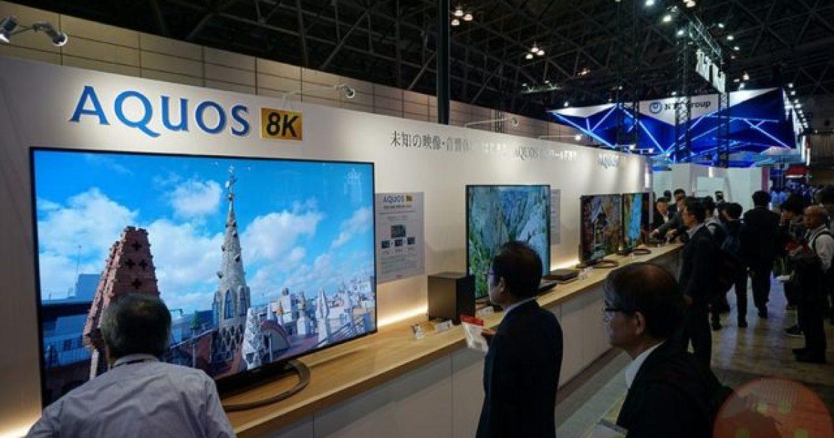 8K TV nga Sharp del në shitje muajin e ardhshëm