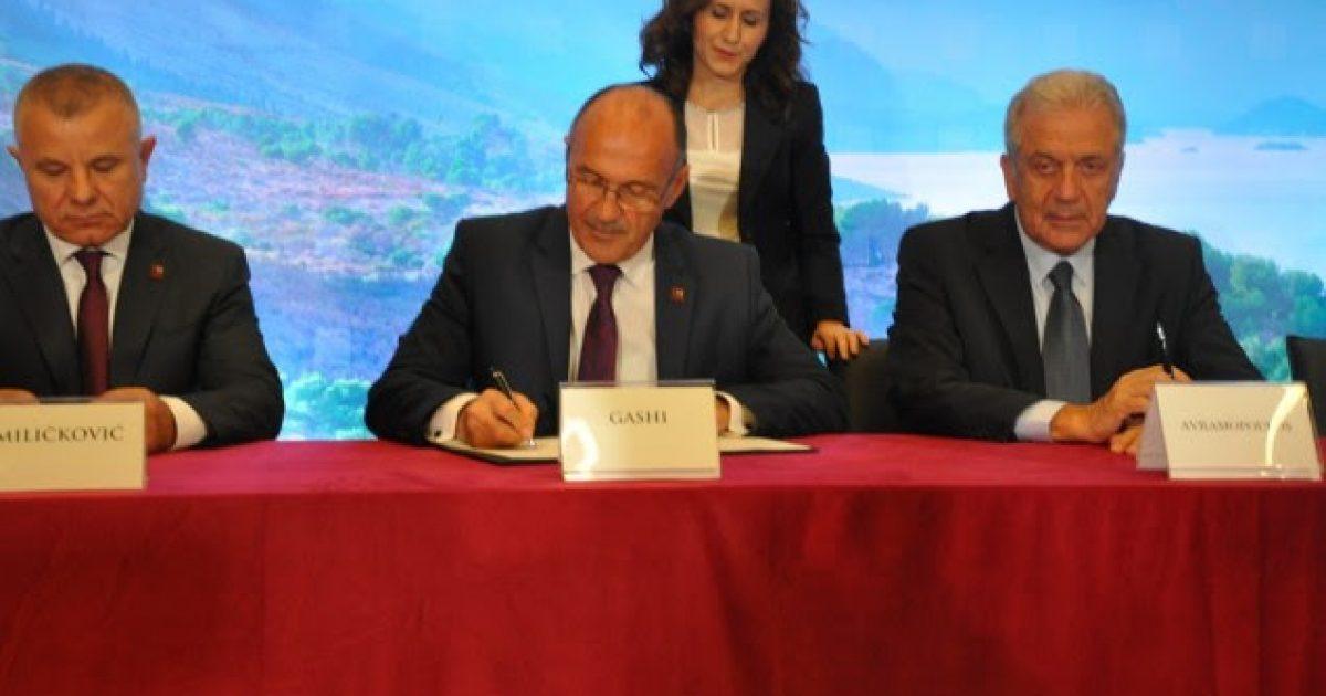 Ministrat e brendshëm të rajonit nënshkruan planin kundër terrorizimit