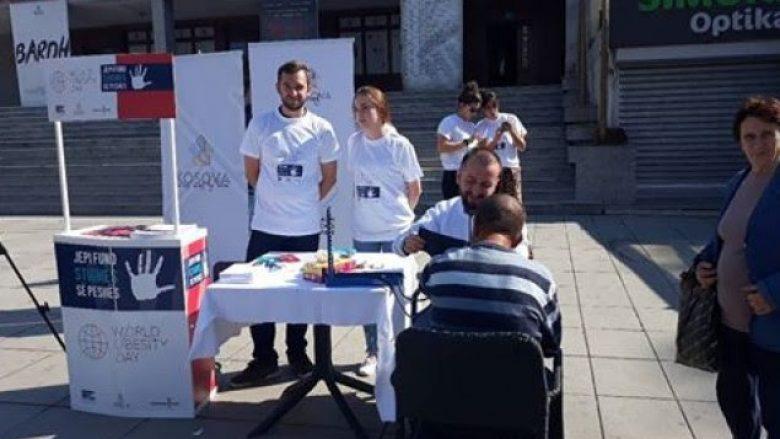 Me kontrolle falas, Prishtina shënon Ditën Botërore të Mbipeshës
