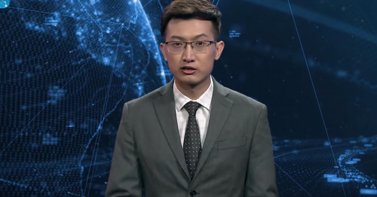 Ky spiker i lajmeve nuk është qenie njerëzore (Video)