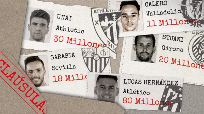 Afati kalimtar dimëror po afron, këto janë 11 transferimet e mëdha që mund të ndodhin në La Liga
