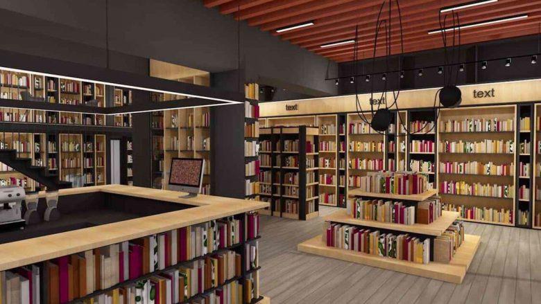 """E ardhmja e librarive, në të tashmen Librarinë """"Dukagjini"""" – hapësira më të mëdha me dizajn bashkëkohor"""