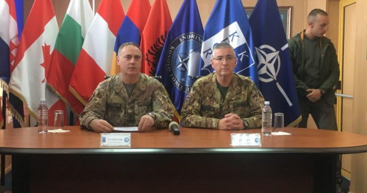 Komandanti i KFOR-it në largim, Cuoci: Veriu sfidë për shkak të krimit të organizuar
