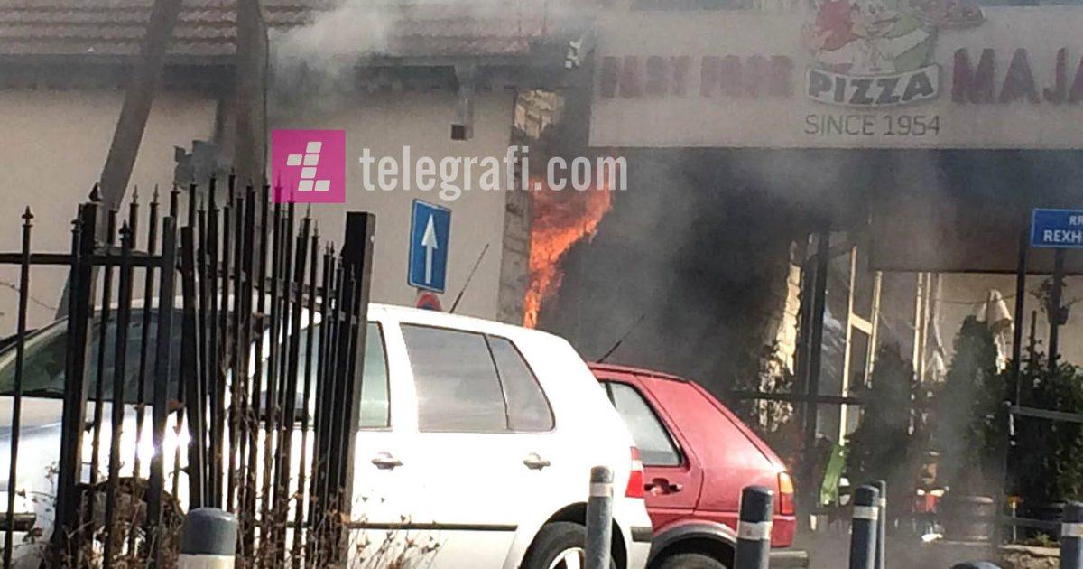 Në lokalin që ishte përfshirë nga zjarri në Prishtinë kishte shpërthyer bombol gazi