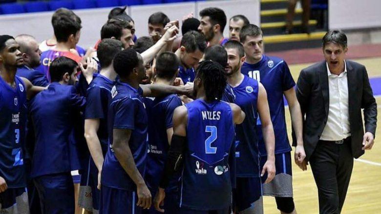 Z Mobile Prishtina fiton në udhëtim ndaj Cherkaski Mavpy, kalon në raundin tjetër të FIBA Europe Cup
