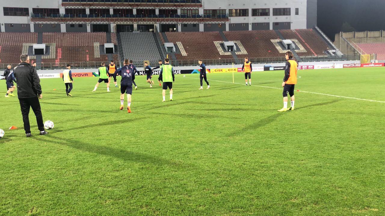 Kosova luan ndeshjen vendimtare ndaj Maltës në udhëtim, formacioni i mundshëm