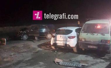 Aksident në Leshan të Pejës, pesë të lënduar