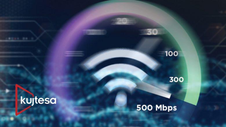Jo dy-fish, as tre-fish, po 25 herë rritje në shpejtësi të internetit – Kujtesa me 500 Mbps për klientët ekzistues!
