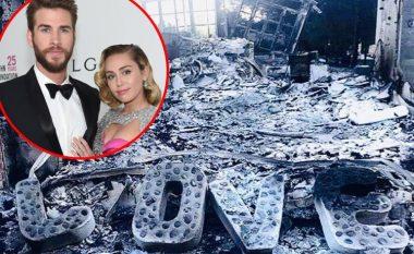 Zjarret në Kaliforni djegin edhe vilën e Miley Cyrus dhe Liam Hemsworth