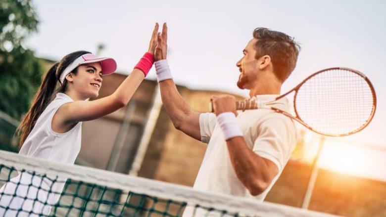 Loja e tenisit mund të zgjasë jetën për 9,7 vjet