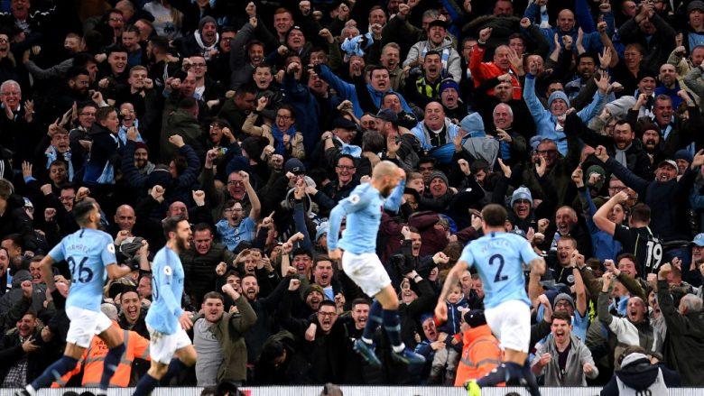 Silva hapi serinë e golave (Foto: Laurence Griffiths/Getty Images/Guliver)