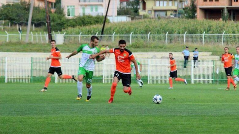 Pamje gjatë ndeshjes së fundit Feronikeli-Ballani