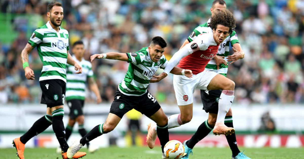 Arsenal – Sporting, formacionet zyrtare