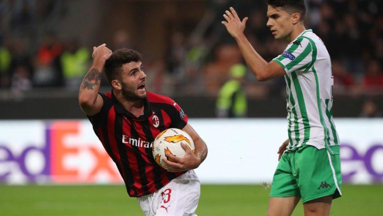 Real Betis – Milan, formacionet zyrtare: 'Luftë' për vendin e parë