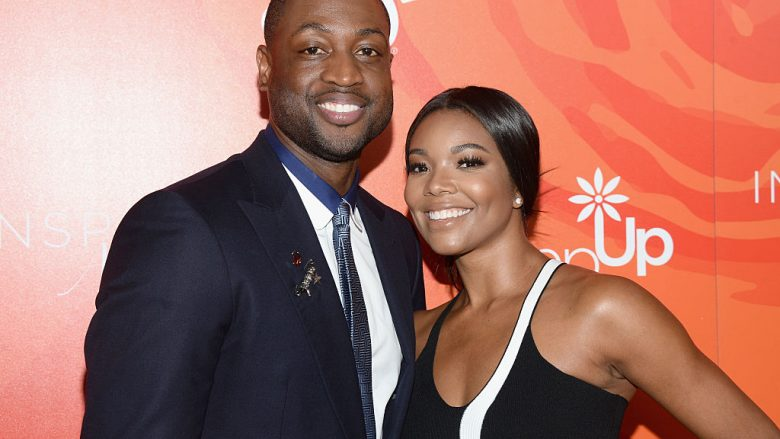 Dwyane Wade dhe Gabrielle Union (Getty Images)