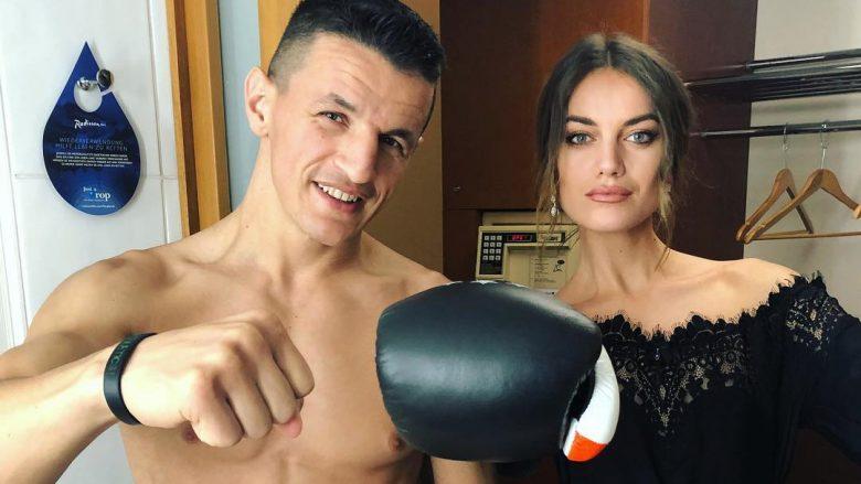 Robin Krasniqi dhe Heidi Lushtaku (Foto: Instagram/ Heidi.Lushtaku)